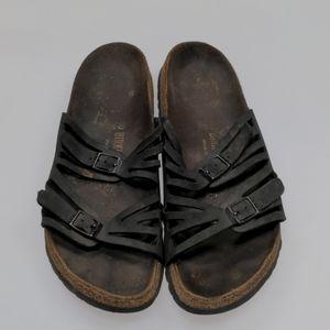 Birkenstock Black Sandals Size 40